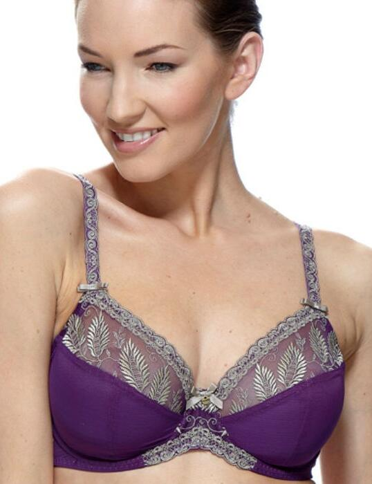 1127010 Charnos Sophia Full Cup Bra Berry/Gold - 1127010 Full Cup