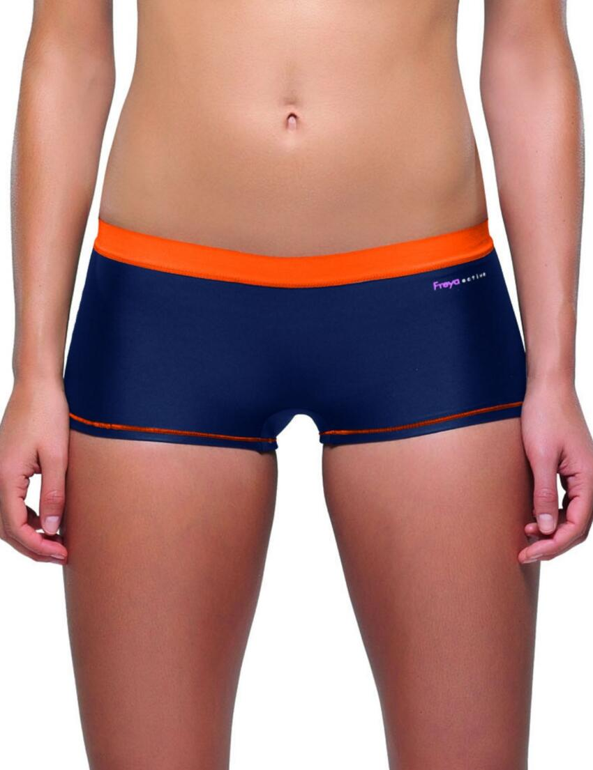 4498 Freya Active Soft Seam Sports Short  - 4498 Blue