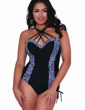 CS3757 Curvy Kate Galaxy Underwired Swimsuit - CS3757 Multi