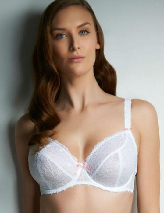 4101 Freya Jolie Lace Balcony Bra White SAVE 40% - 4101 4102 White