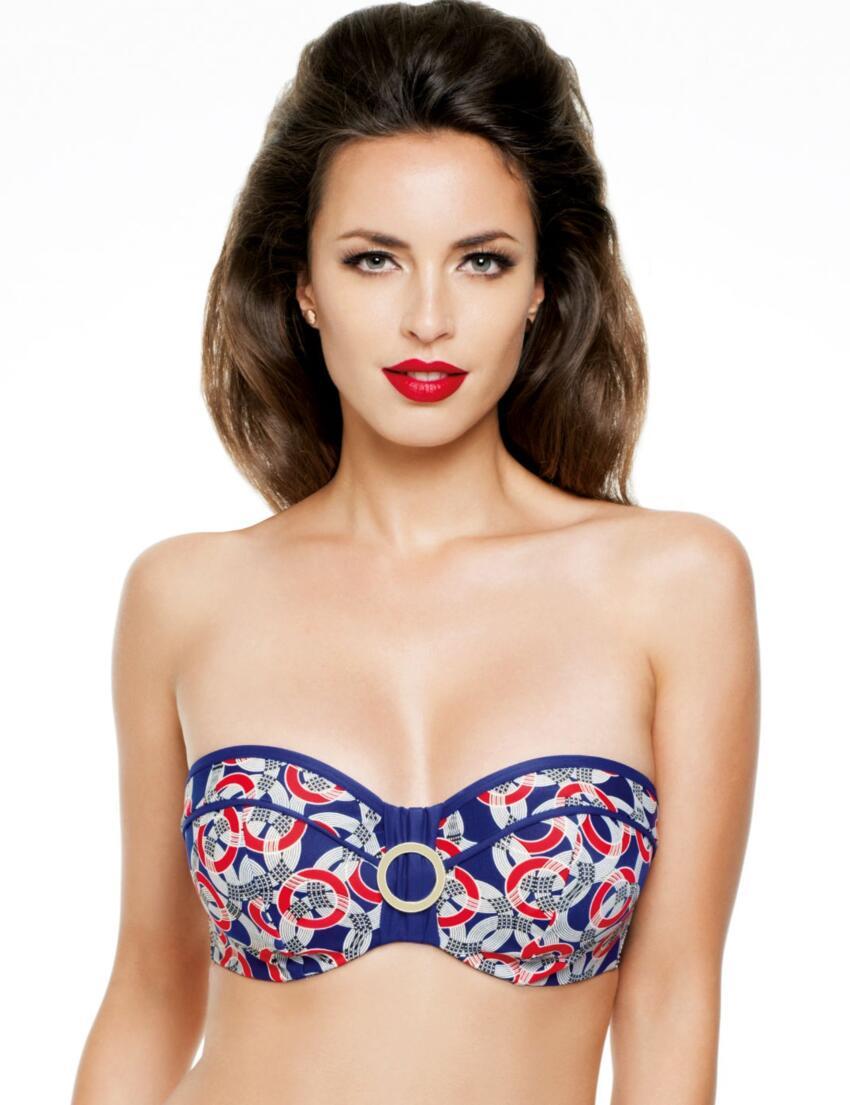 SW0773 Panache Nancy Bandeau Bikini Top - SW0773 Bikini Top