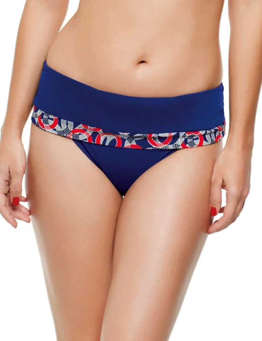 SW0777 Panache Nancy Fold Bikini Pant - SW0777 Fold Pant