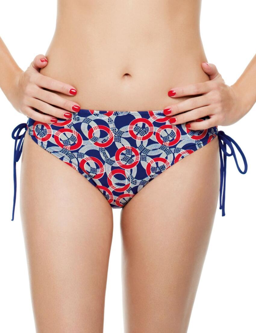 SW0778 Panache Drawside Bikini Pant - SW0778 Drawside