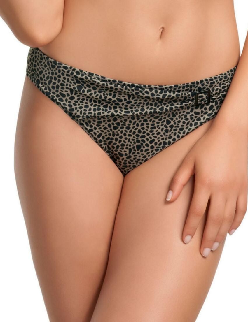 Fantasie Javea Mid Rise Bikini Brief Bottoms 5987 Blue Lagoon