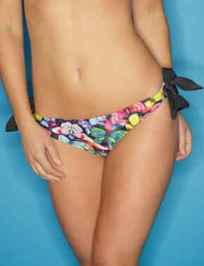 69004 Pour Moi? Copacabana Tie Side Brief - 69004 Butterfly/Multi