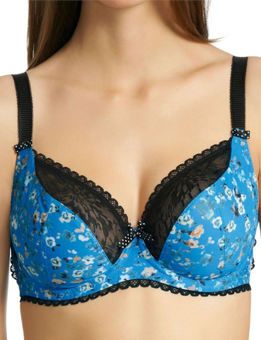 1231 1232 Freya Piper Balcony Bra Cornflower Blue  - 1231/32 Bra