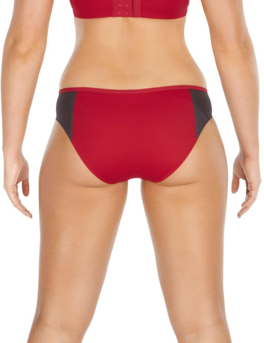 7342 Panache Sport brief Red/Grey FREE UK POST - 7342 Red/Grey