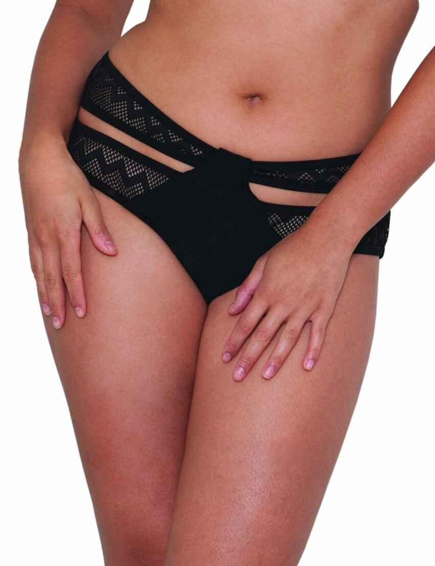 56f8ceb9d Outlet · CS4105 Curvy Kate Hi Voltage Strappy Mini Bikini Brief - CS4105  Black