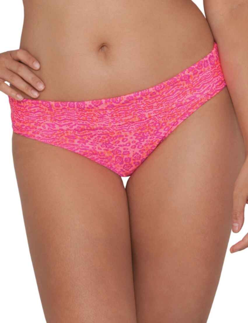 1c061a8cd7 Save · CS3925 Curvy Kate Daze Fold Over Bikini Brief Pink Mix - CS3925 Bikini  Brief