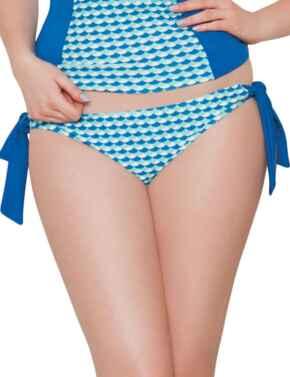 CS3115 Curvy Kate Atlantis Tie Bikini Brief - CS3115 Deep Sea