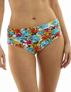 SW1028 Panache Leila Midi Bikini Brief Tropical Print - SW1028 Tropical Print