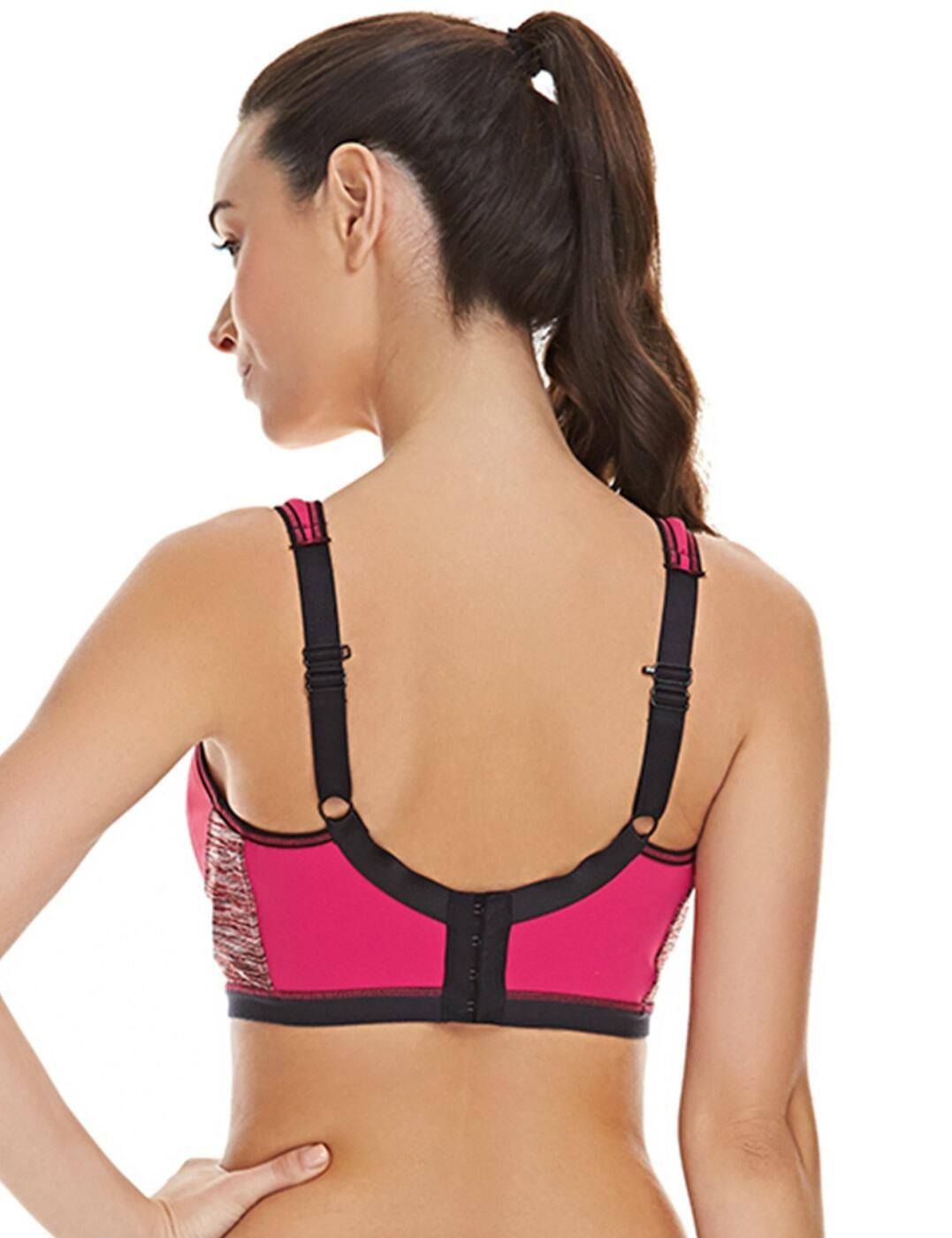 Freya-Active-Epic-Sports-Bra-4004-Underwired-Padded-Moulded-High-Impact-Gym-Bra thumbnail 8