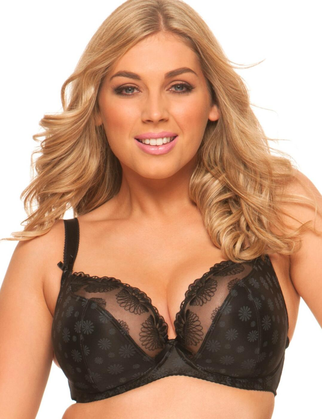 97e1194726 Curvy Kate Women s Daisie Plunge Everyday Bra Black 32f. About this  product. Picture 1 of 2  Picture 2 of 2