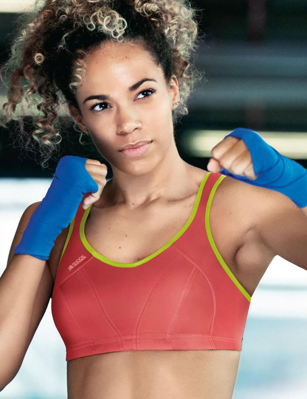 Amortisseur-High-Impact-Soutien-gorge-de-Sport-S4490-sans-armature-Gym-Entrainement-Course-Soutien