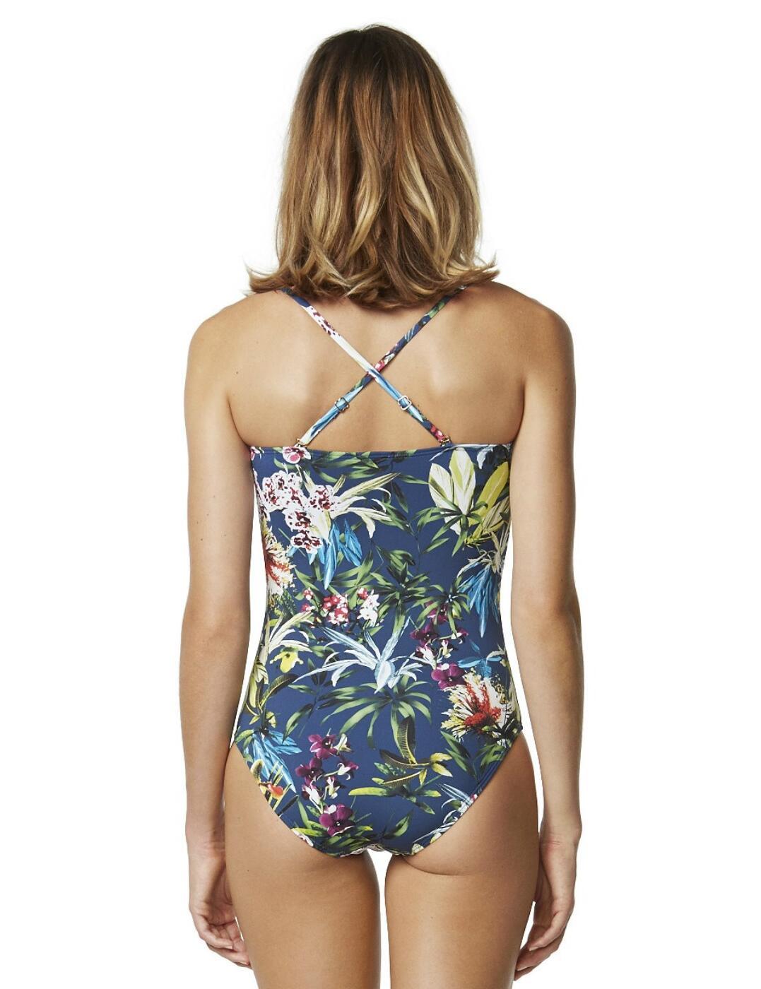 Moontide Botanical Twist Fuller Cup Twist Swimsuit M4306BT