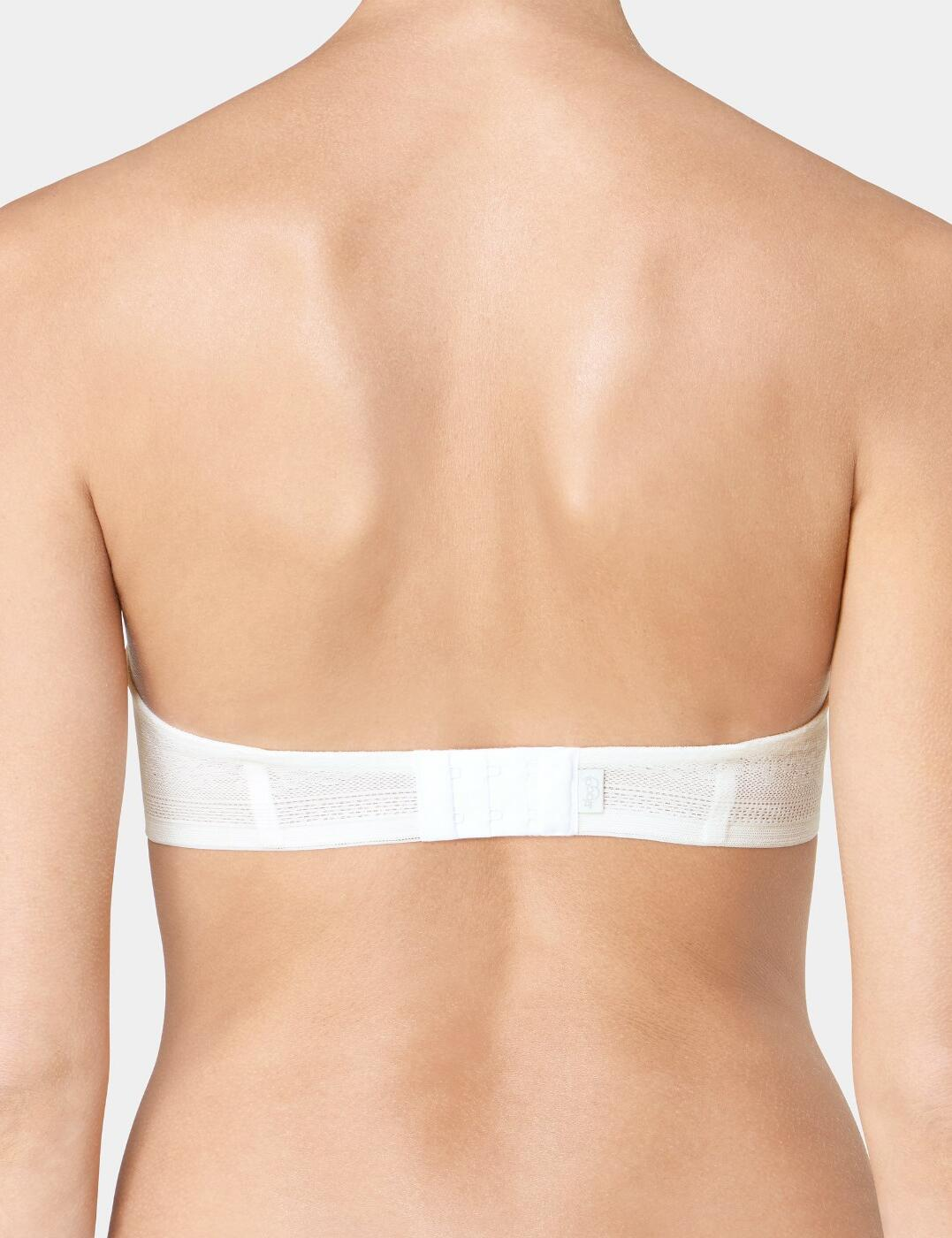 Sloggi Zero Lace Strapless Bra 10186066 Underwired Lightly Padded Womens Bras