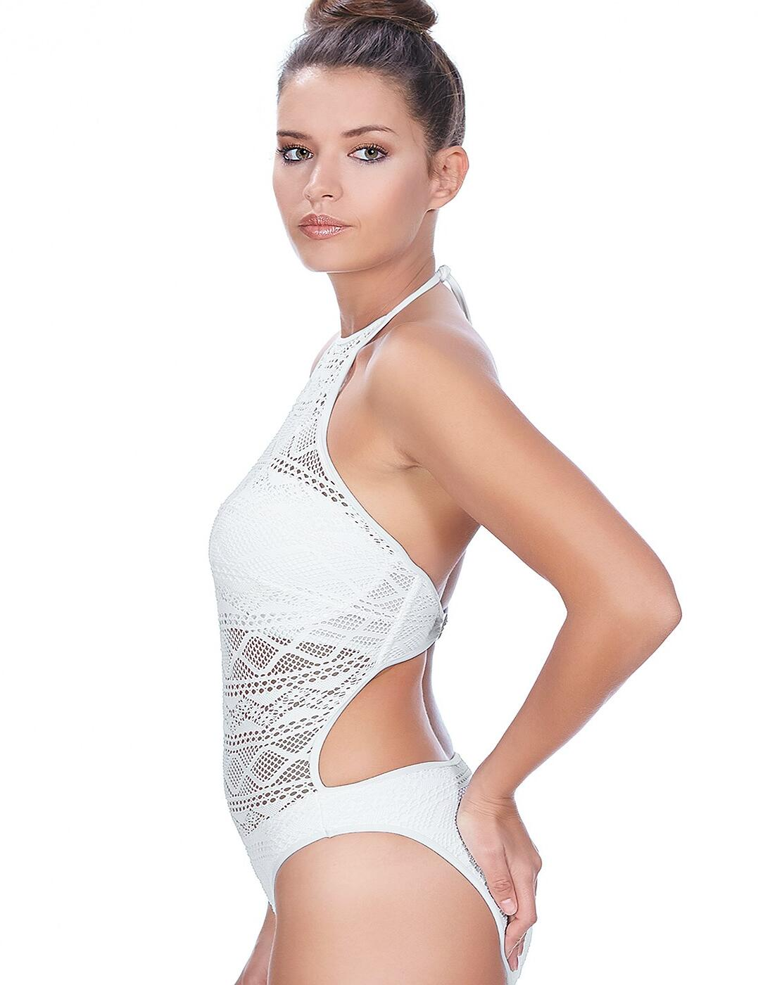 c87ef9e9d8c4f Freya Sundance 3974 Underwired High Neck Swimsuit Swimming Costume ...