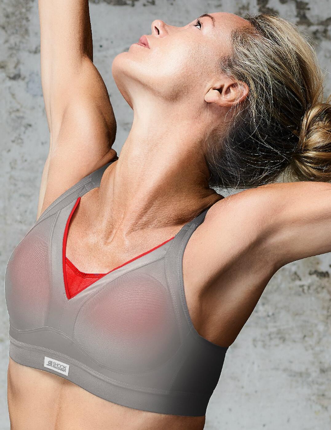 Mature women in sports bras