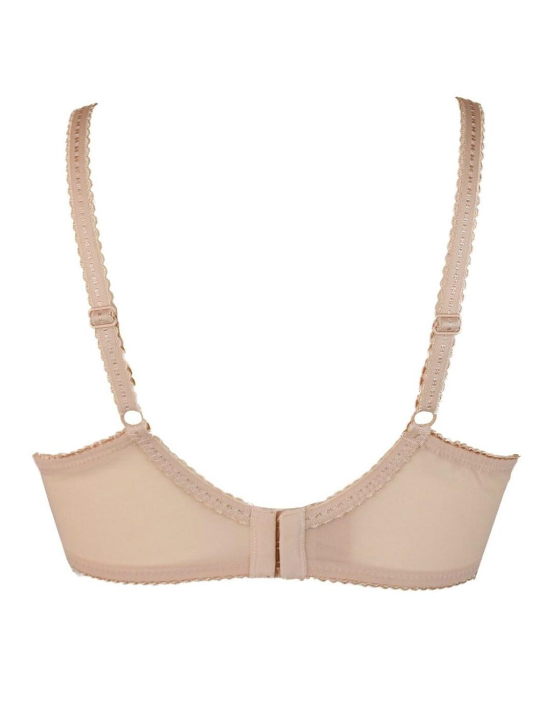 Womens Remix Side Support Underwired Bra Full Coverage Pour Moi