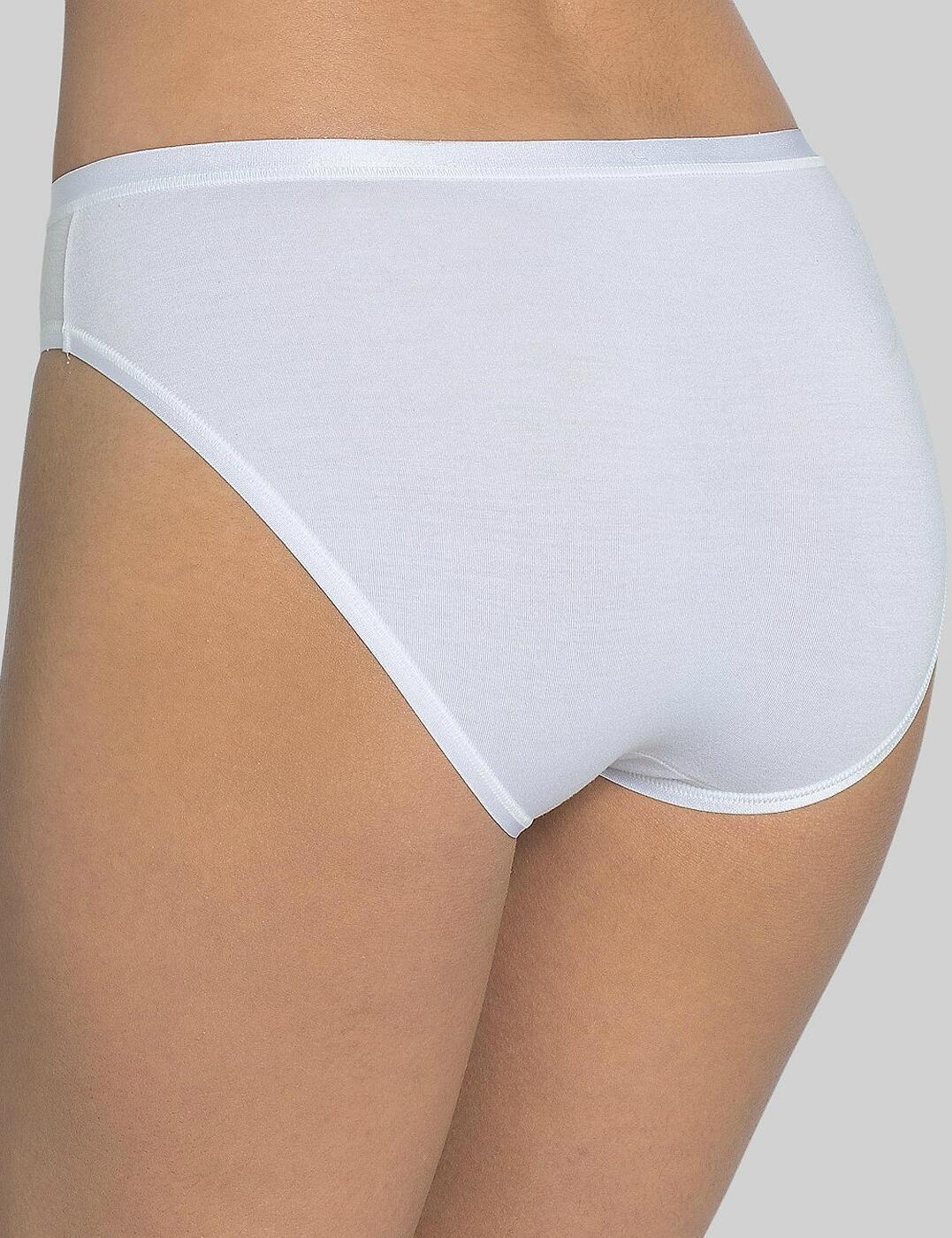 Sloggi Feel Natural Tai Brief Knickers 10150875 Womens Lingerie 2 Pack