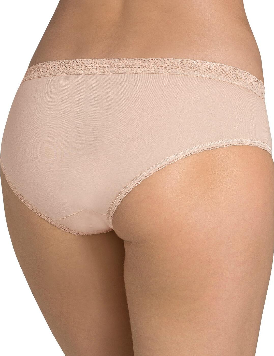 Sloggi-EverNew-Lace-Hipster-Knickers-Brief-10162961-Black-White-Nude