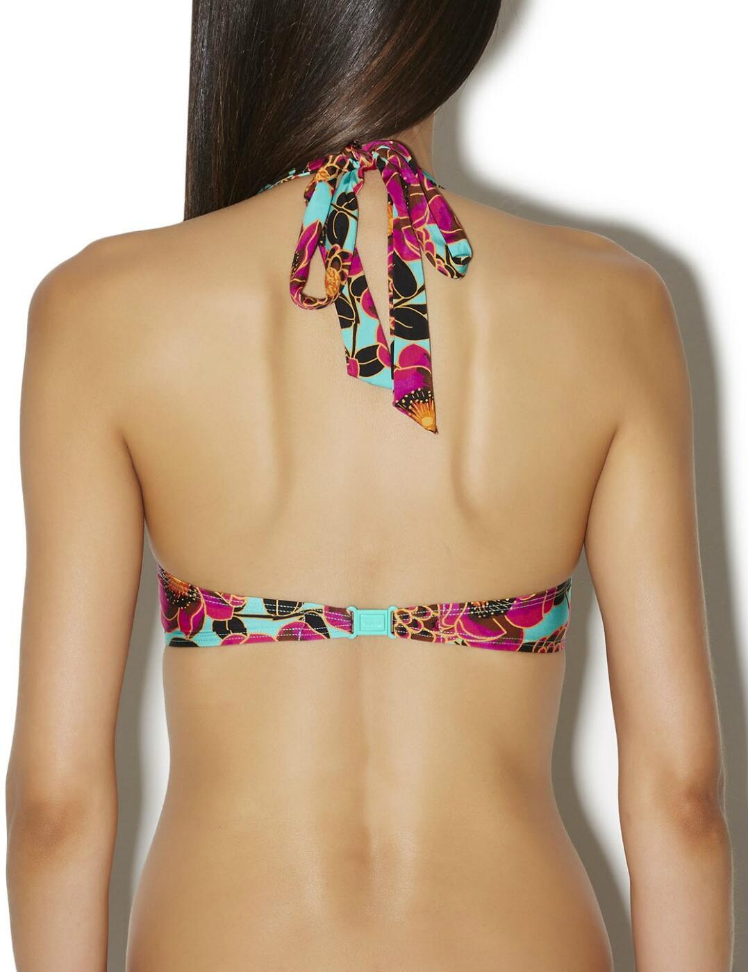 Aubade Swimwear Songe Tropical Moulded Plunge Bikini Top AJ08