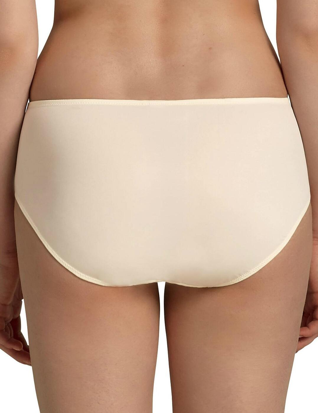 Anita-Comfort-Valentina-High-Waisted-Briefs-1428-Womens-Knickers-Champagne thumbnail 3
