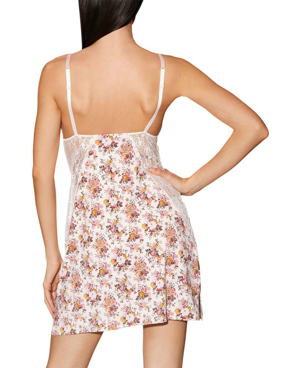 Aubade Fleurs de Plaisir Nightie Nightdress FA40 Luxury Womens Nightwear Opal