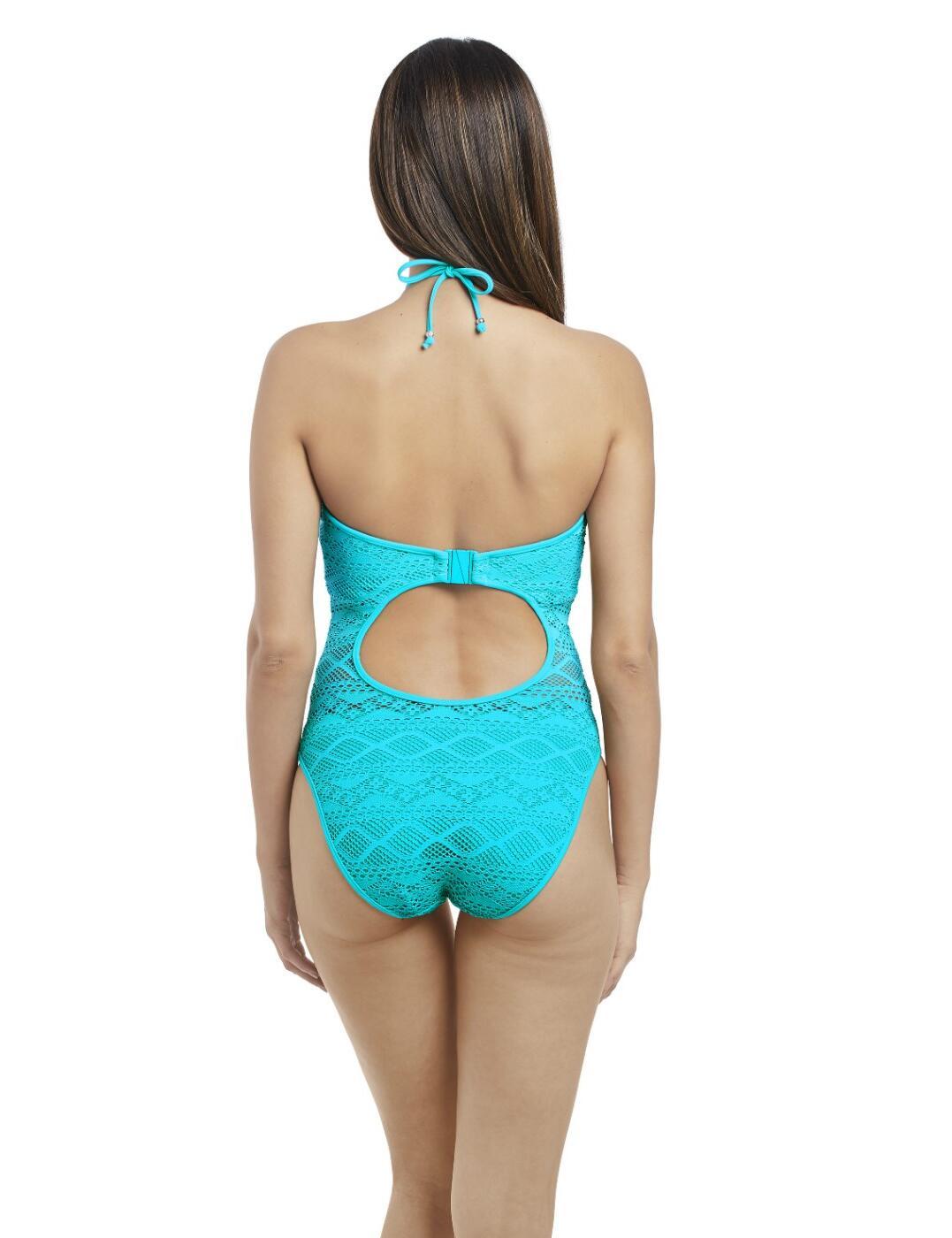 da7e2f763efb2 Freya Sundance Underwired High Neck Cutout Swimsuit 3974 Swimming ...
