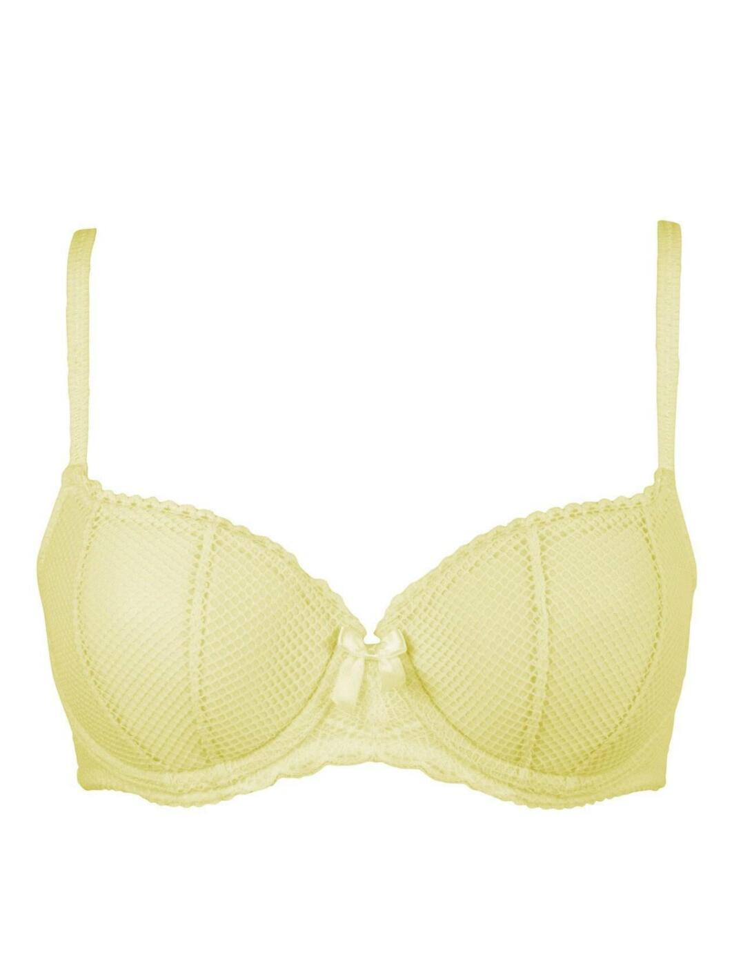 Pour Moi Electra Bra 46000 Underwired Lightly Padded Balcony Womens Lingerie