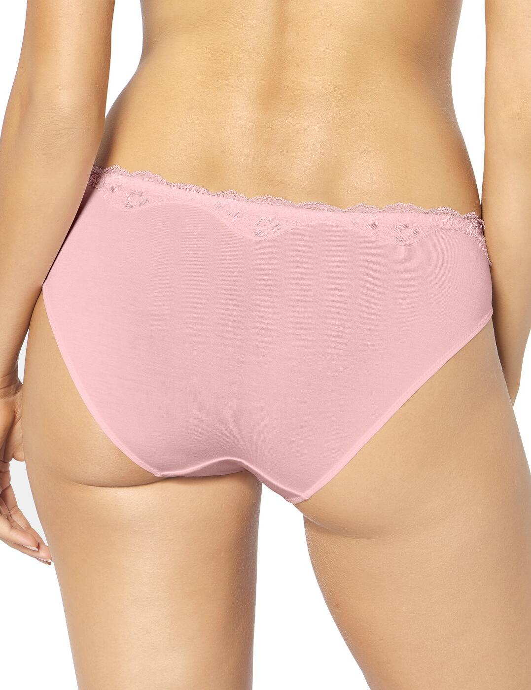 Triumph Touch of Modal Tai Brief Knickers 10182553 Kaluha Purple Deep Water Pink