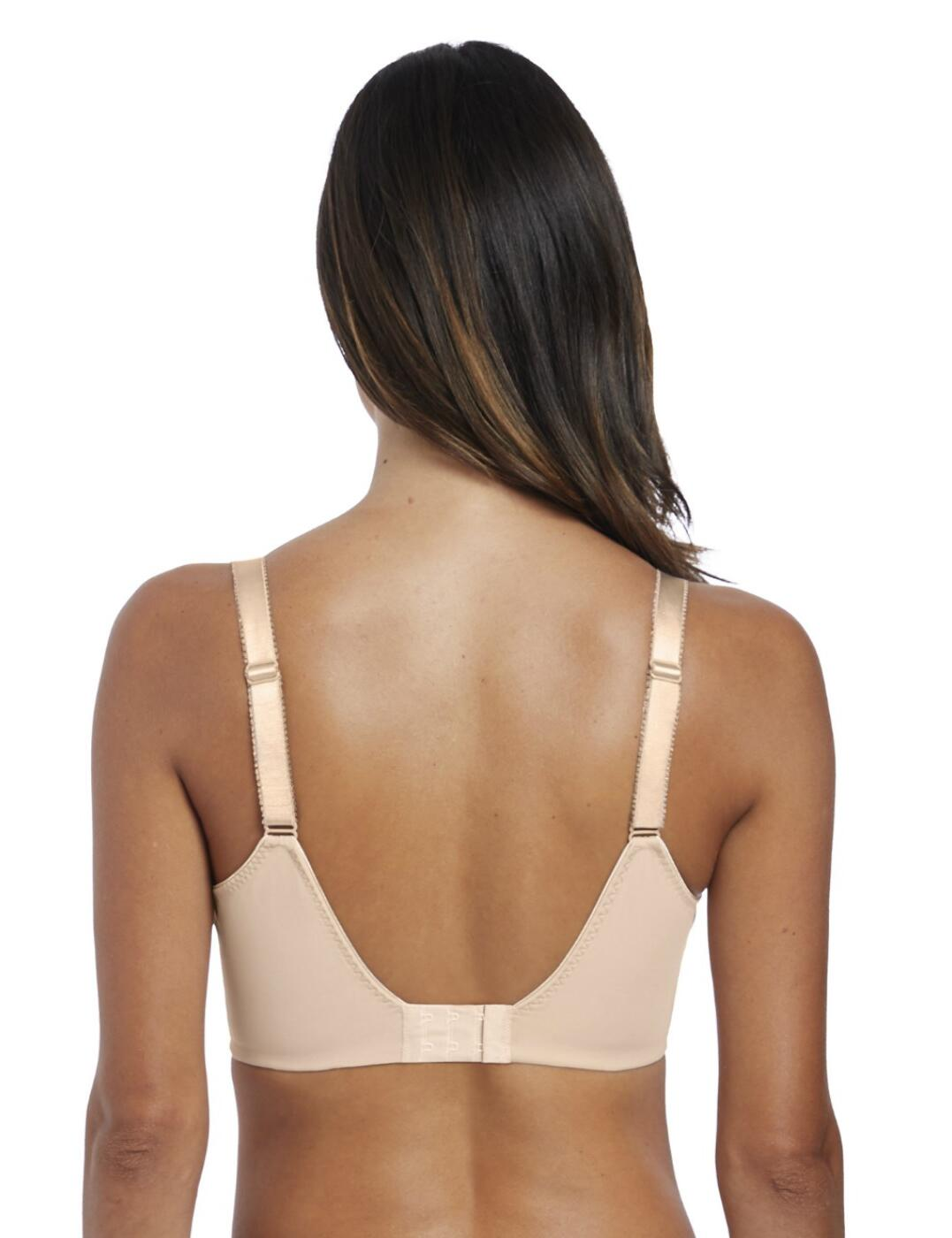 FANTASIE Illusion Underwired Side Support Bra Natural Beige Luxury Lingerie 2982