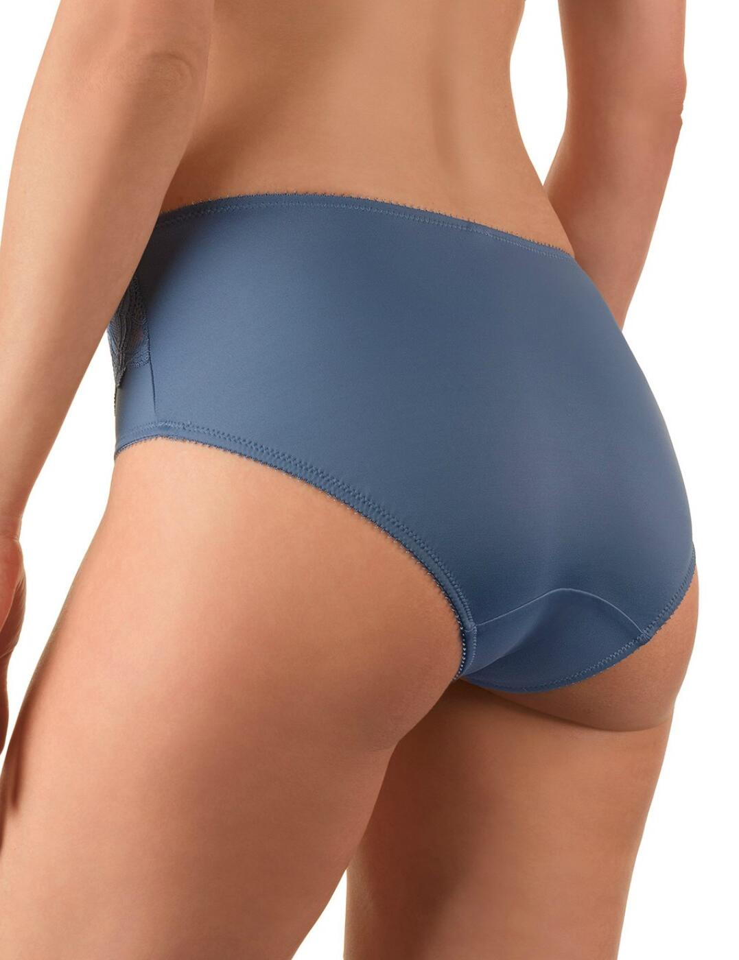 Felina Icon Brief Knickers Pant 213214 Womens Luxury Lingerie Blue Mood