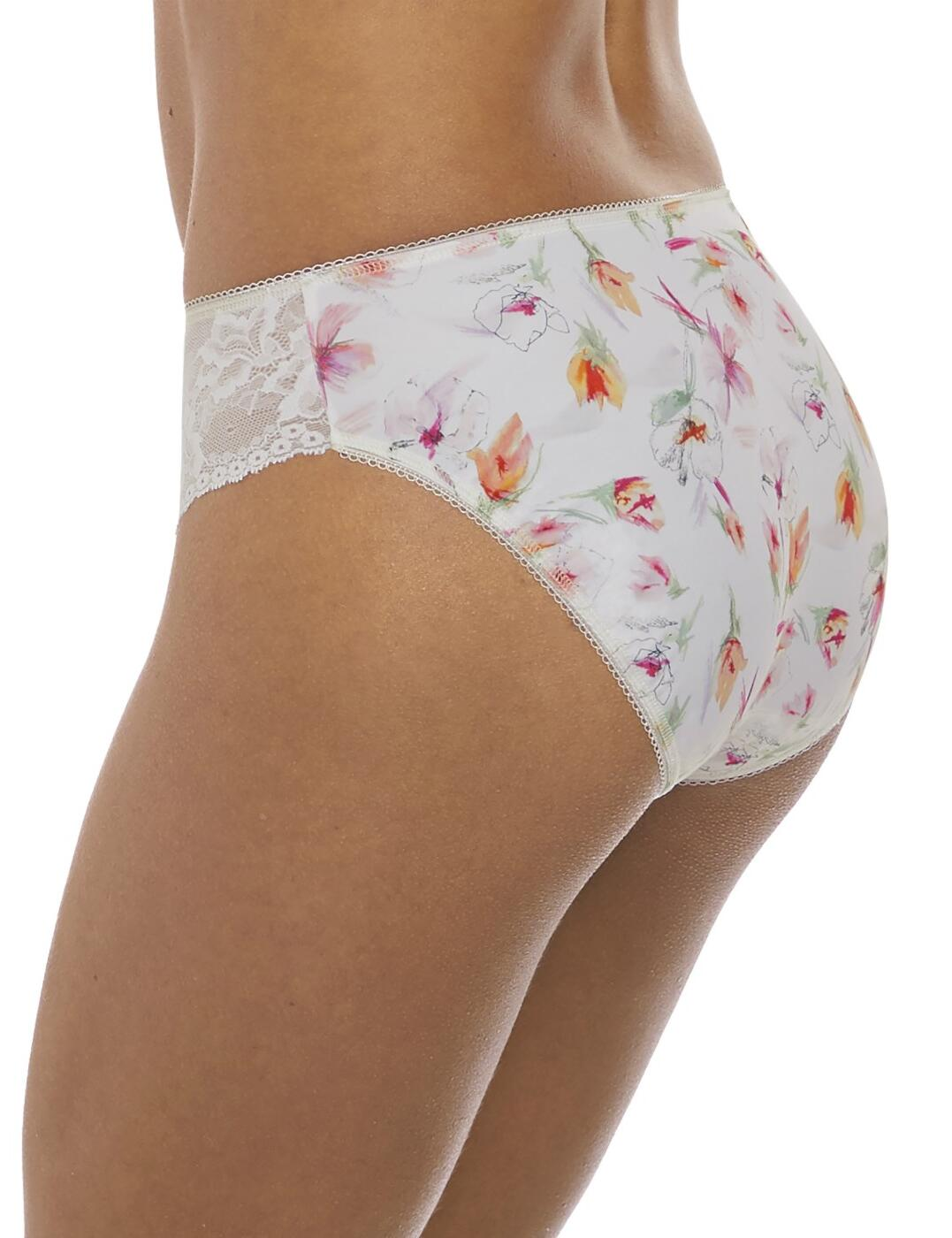Fantasie Lena Brief Mid Rise Lace Knickers 3115 New Womens Lingerie White
