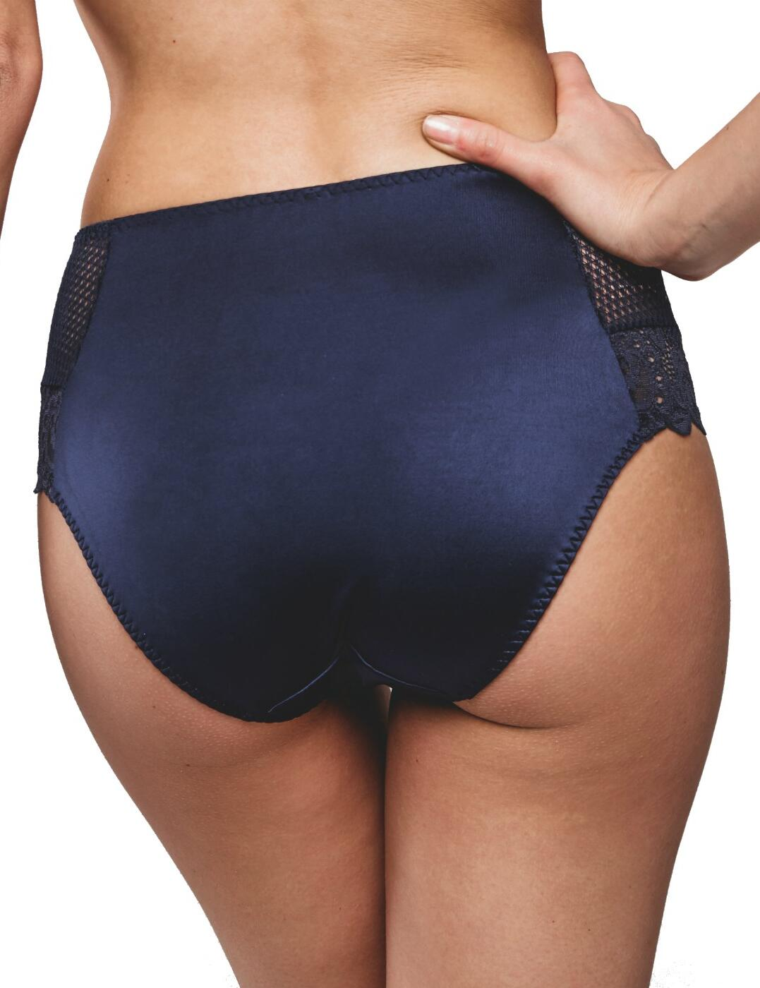 Maison-Lejaby-Gaby-High-Waist-Brief-13864-Luxury-Lingerie-Womens-Knickers thumbnail 5