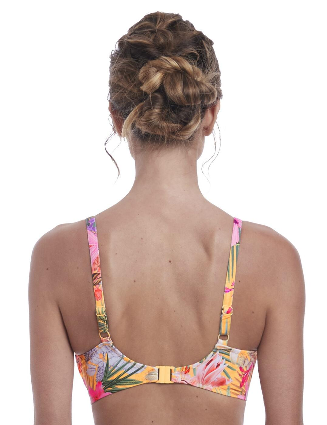 Fantasie Anguilla Gathered Full Cup Bikini Top 6580 Womens Underwired Swimwear
