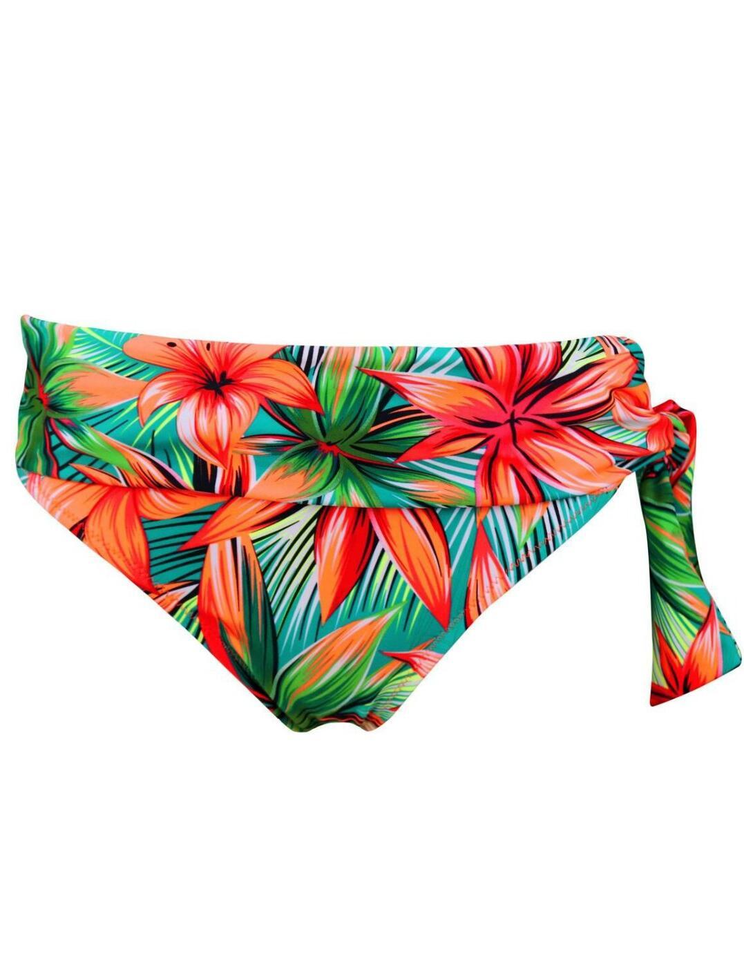 Pour-Moi-Heatwave-Fold-Over-Bikini-Brief-Bottoms-86003-New-Womens-Swimwear thumbnail 9