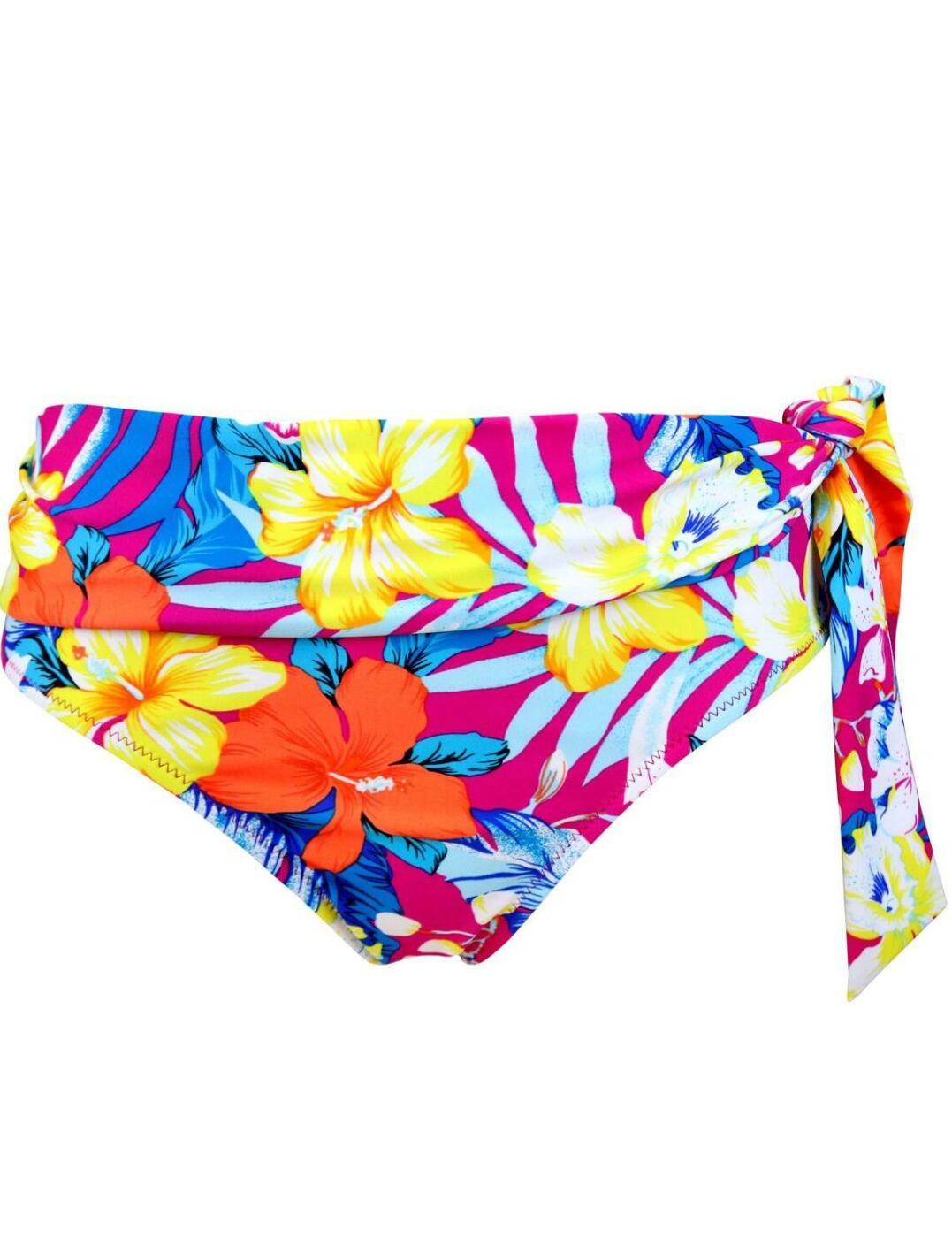 Pour-Moi-Heatwave-Fold-Over-Bikini-Brief-Bottoms-86003-New-Womens-Swimwear thumbnail 3