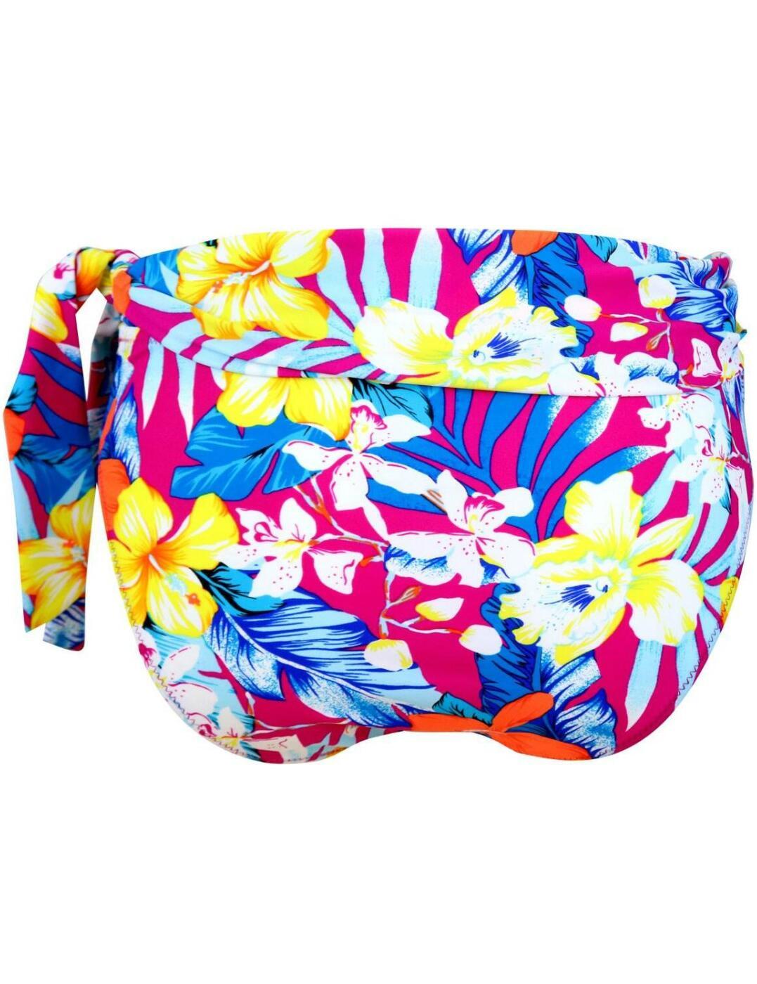 Pour-Moi-Heatwave-Fold-Over-Bikini-Brief-Bottoms-86003-New-Womens-Swimwear thumbnail 4