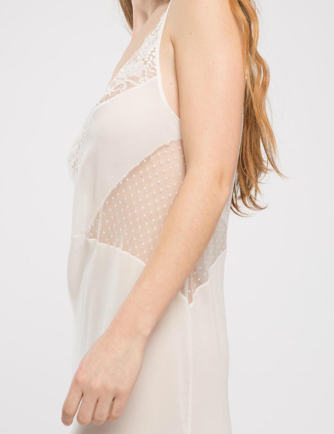 Maison Lejaby Oui Lejaby Slip Chemise Nightdress 17574 Luxury Womens Lingerie