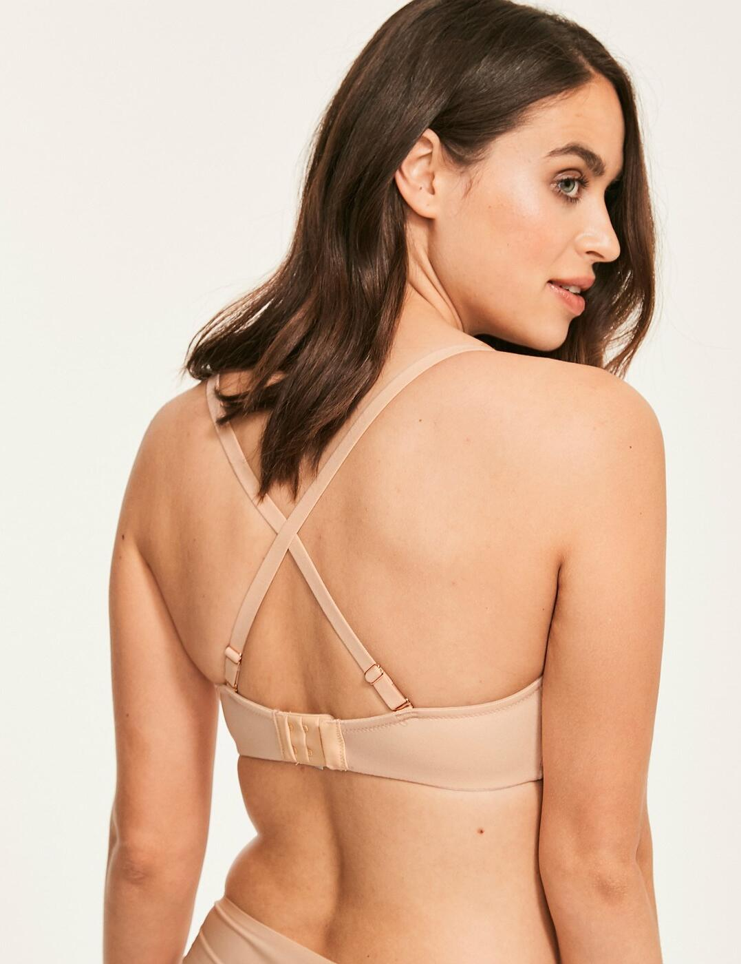Figleaves Smoothing Bra 1831021 Underwired Sweetheart Full Cup T-Shirt Bras