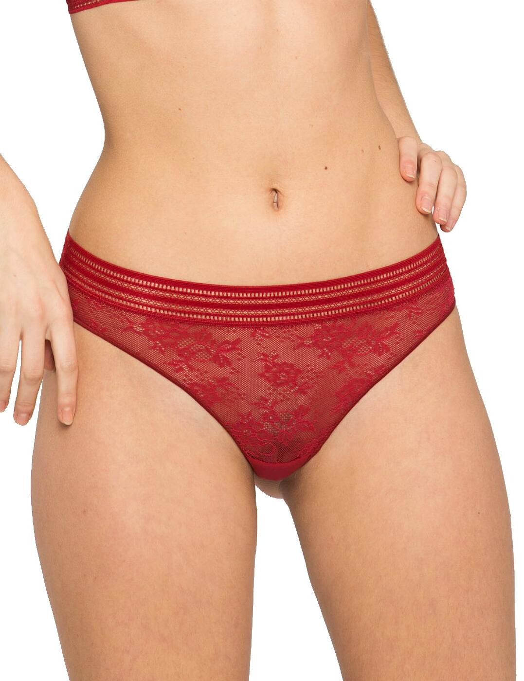 Maison Lejaby Miss Lejaby Tanga Brief 16462 New Lingerie Womens Lace Knickers