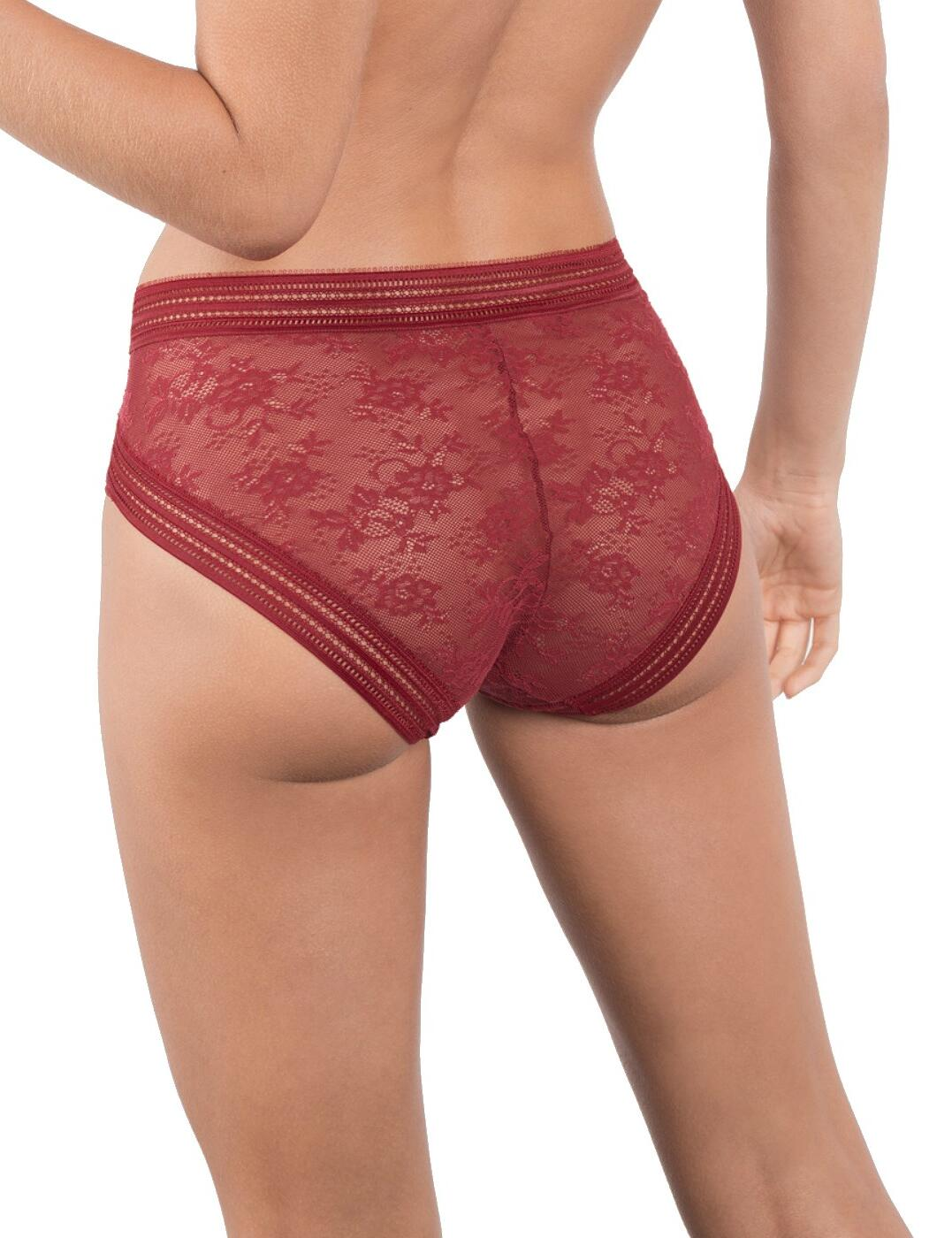 Maison Lejaby Miss Lejaby High Waist Brief 16464 Womens Luxury Knickers Lingerie
