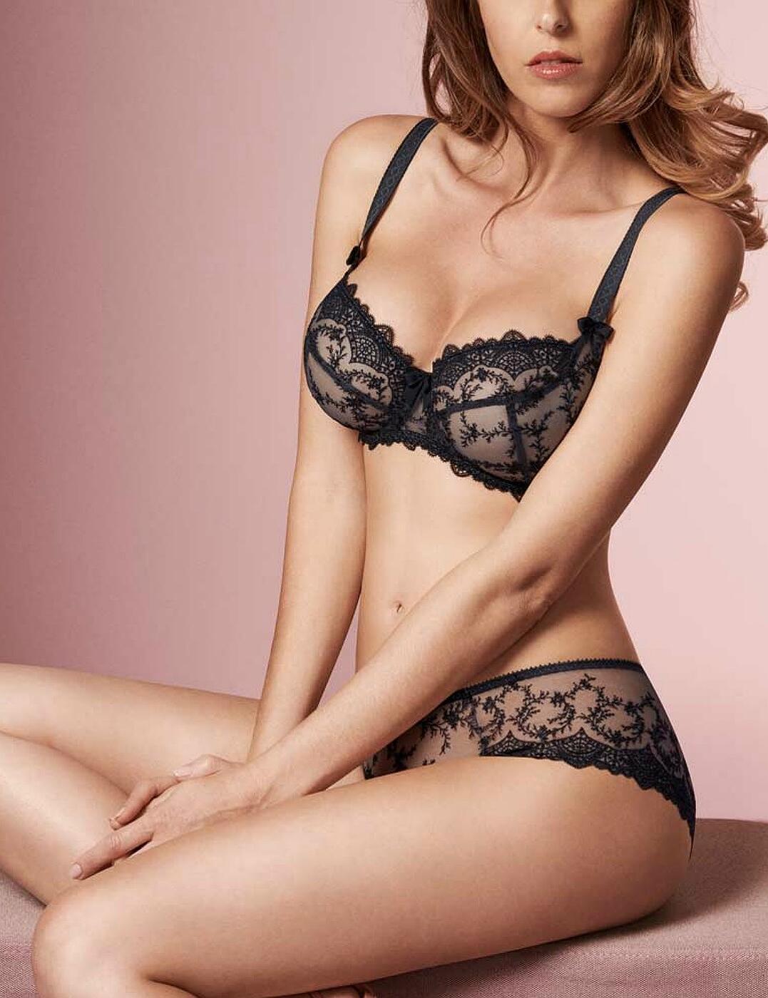 miniatuur 3 - Empreinte-Louise-Low-Neck-Bra-08184-Underwired-Womens-Luxury-Bras