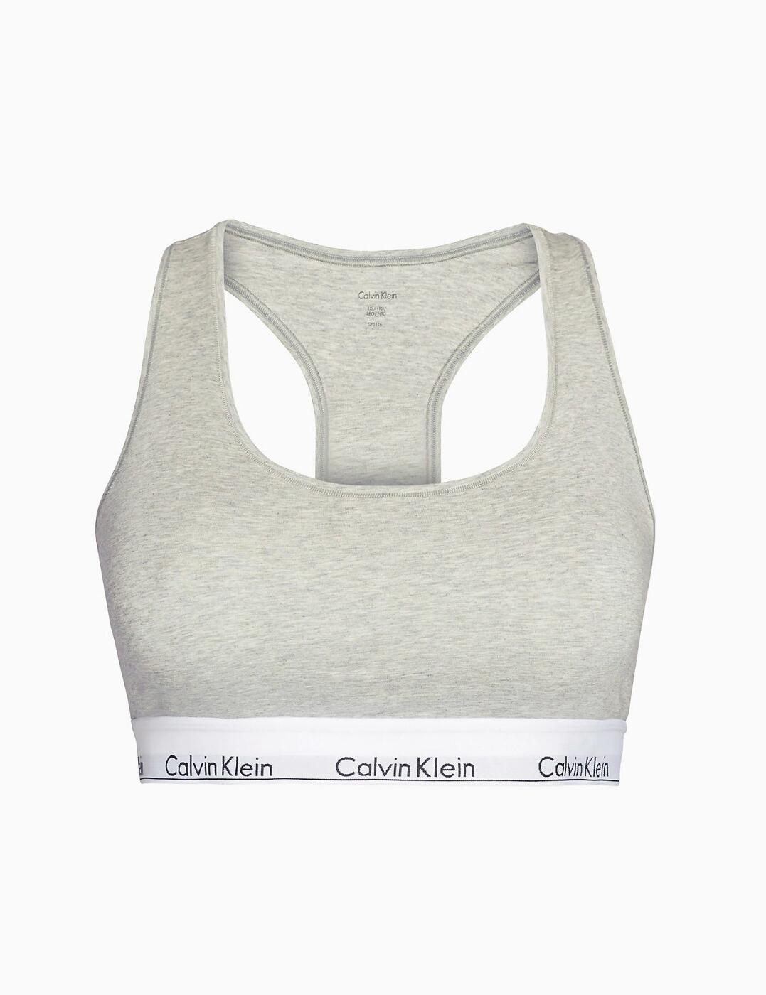 thumbnail 14 - Calvin Klein Modern Cotton Plus Bralette Bra Bra Top QF5116E New Womens Bras