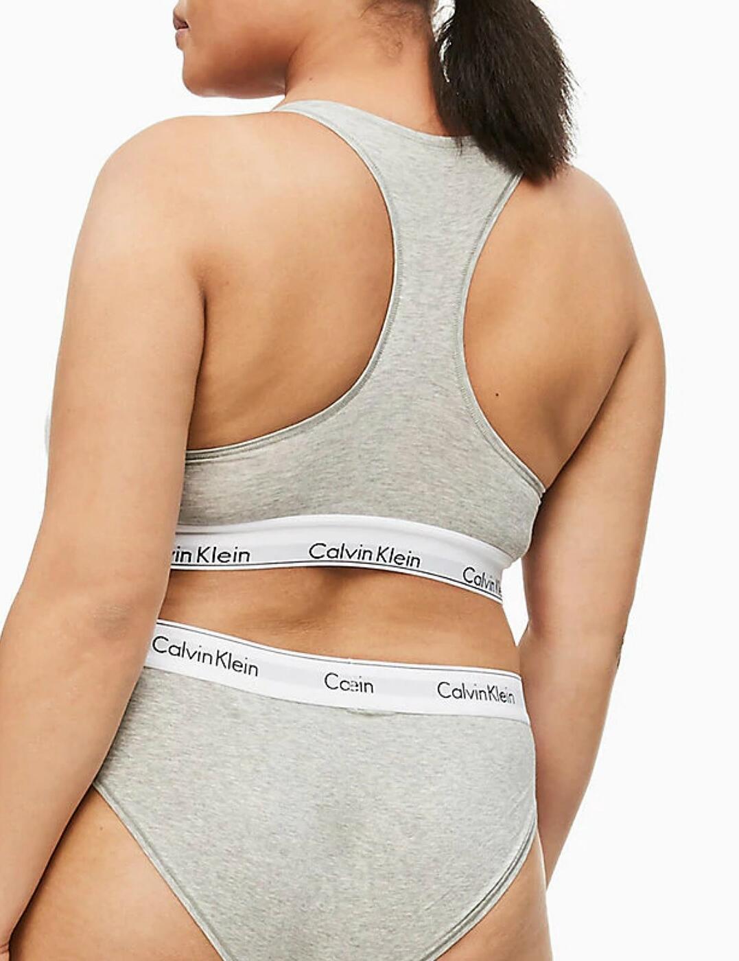 thumbnail 13 - Calvin Klein Modern Cotton Plus Bralette Bra Bra Top QF5116E New Womens Bras