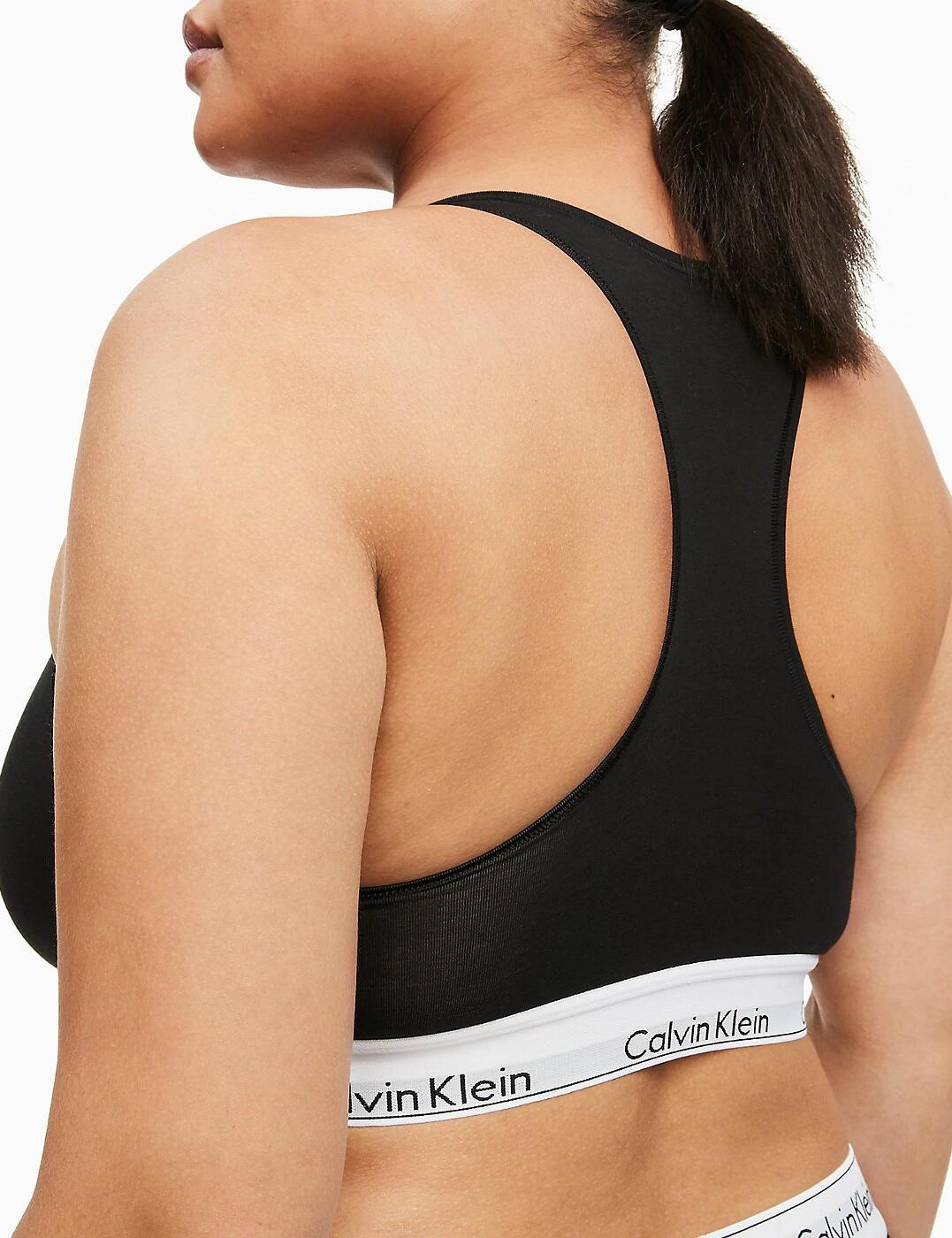 thumbnail 10 - Calvin Klein Modern Cotton Plus Bralette Bra Bra Top QF5116E New Womens Bras