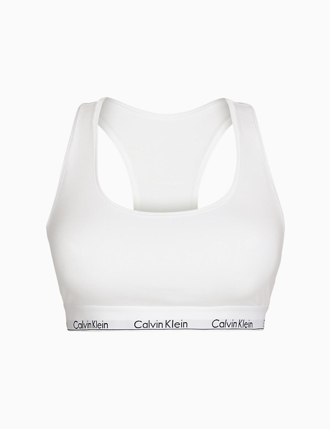 thumbnail 6 - Calvin Klein Modern Cotton Plus Bralette Bra Bra Top QF5116E New Womens Bras