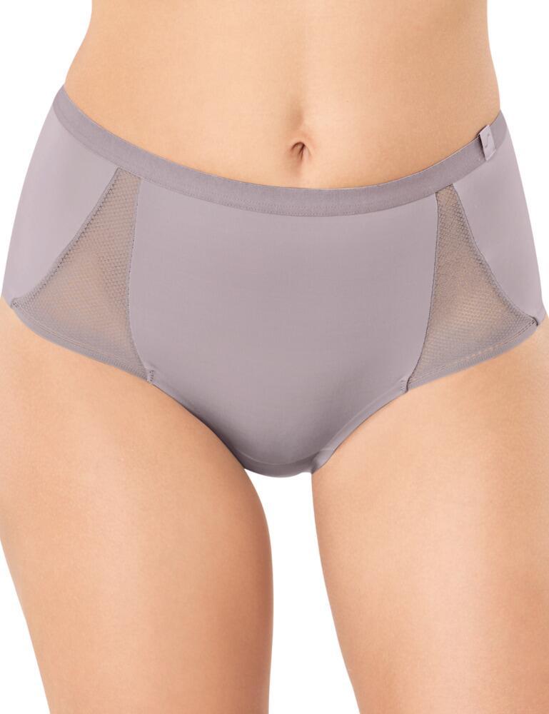 S by Sloggi Symmetry Maxi Brief High Waist Panty Lingerie Navy Blazer 10189896