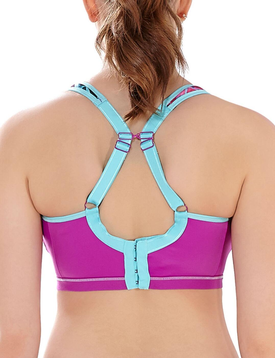 Freya-Active-Epic-Sports-Bra-4004-Underwired-Padded-Moulded-High-Impact-Gym-Bra thumbnail 20